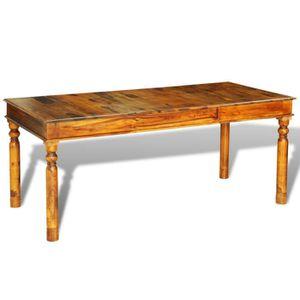 TABLE BASSE Table basse à Manger style colonial en palissandre
