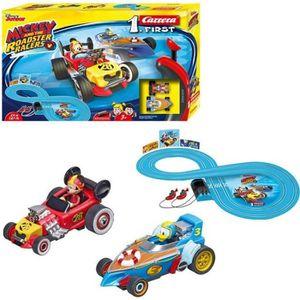 CIRCUIT Circuit CARRERA FIRST Mickey Roadstar Racers - 2,4