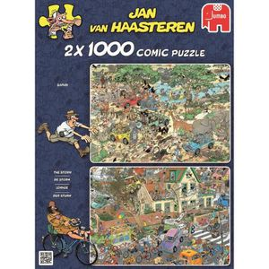 PUZZLE JUMBO Puzzle 2 x 1000 pièces Jan van Haasteren