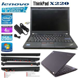 Top achat PC Portable x220 i5 4250W7SWC-B pas cher