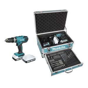 PERCEUSE MAKITA Perceuse-visseuse à percussion HP457DWEX4 a