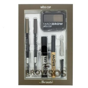 PALETTE DE MAQUILLAGE  Kit Sourcils Sos Brow Miss Cop
