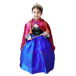 DÉGUISEMENT - PANOPLIE WAIWAIZUI Robes Enfant Princesse Anna La Reine des