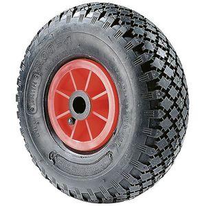 2x Diables-roue pneumatique air 3,00-4 chariot à tirer-roues brouette luftrad 260x85