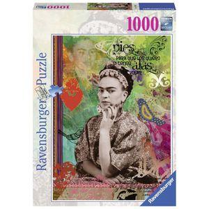 PUZZLE RAVENSBURGER Puzzle 1000 p - Frida Kahlo de Rivera