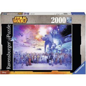PUZZLE STAR WARS Puzzle Saga 2000 pcs - Disney