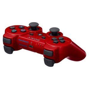 MANETTE JEUX VIDÉO DualShock 3 Sony Rouge