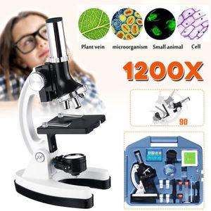 Microscope Metallique GMPZ-C1200 Zoom 100x à 1200x Pour decouvrir le tout petit