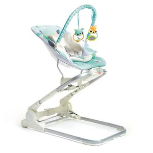 TRANSAT Tiny Love 3 en 1 Close to me Bouncer, gris-turquoi