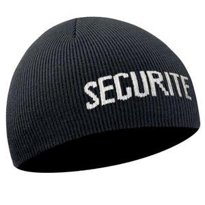 BONNET - CAGOULE Bonnet Sécurité noir