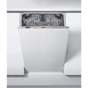LAVE-VAISSELLE Lave-vaisselle Tout-intégrable WHIRLPOOL - WSIC3M1