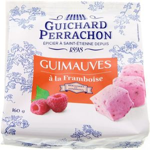 GUIMAUVE GUICHARD PERRACHON Guimauves à la framboise - 160