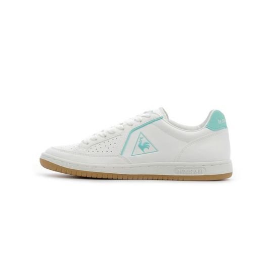 Baskets basses Le Coq Sportif Icons W S Leather - Gum Blanc Blanc - Achat / Vente basket