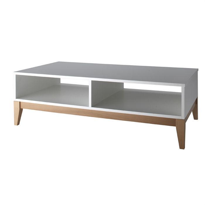 Blanco Table Basse Ch Ne Blanc Achat Vente Table Basse Blanco Table Basse Ch Ne Massif