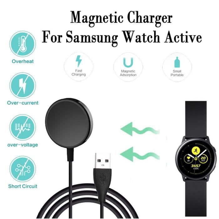 MONTRE OUTDOOR Chargeur de station d'accueil à charge rapide sans fil pour Samsung Galaxy Watch Active 2 bg1569 SDF1569