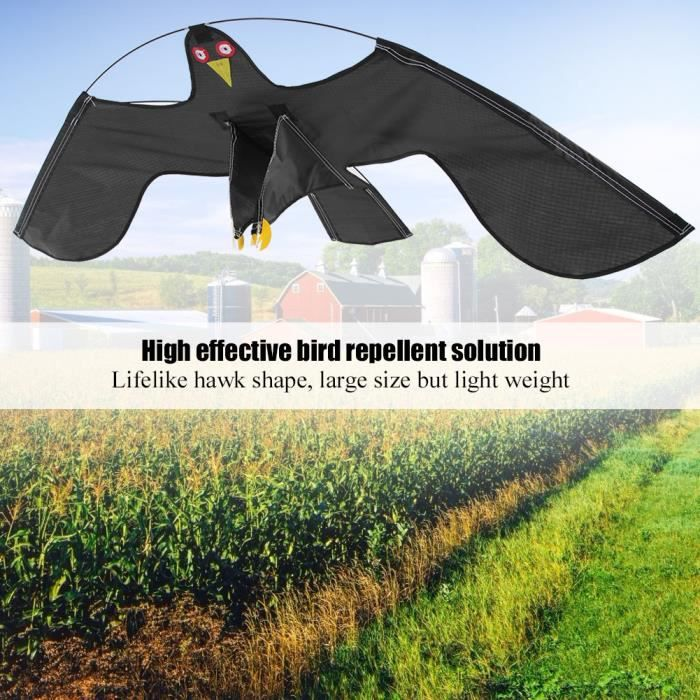 Cultures de fermier de répulsif d'effaroucheur d'oiseaux protégeant le cerf-volant avec le poteau télescopique de 4m -XNA