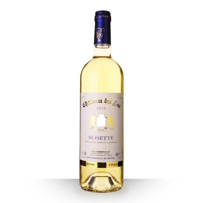 Château Du Lac 2016 AOC Rosette - 75cl - Vin Blanc