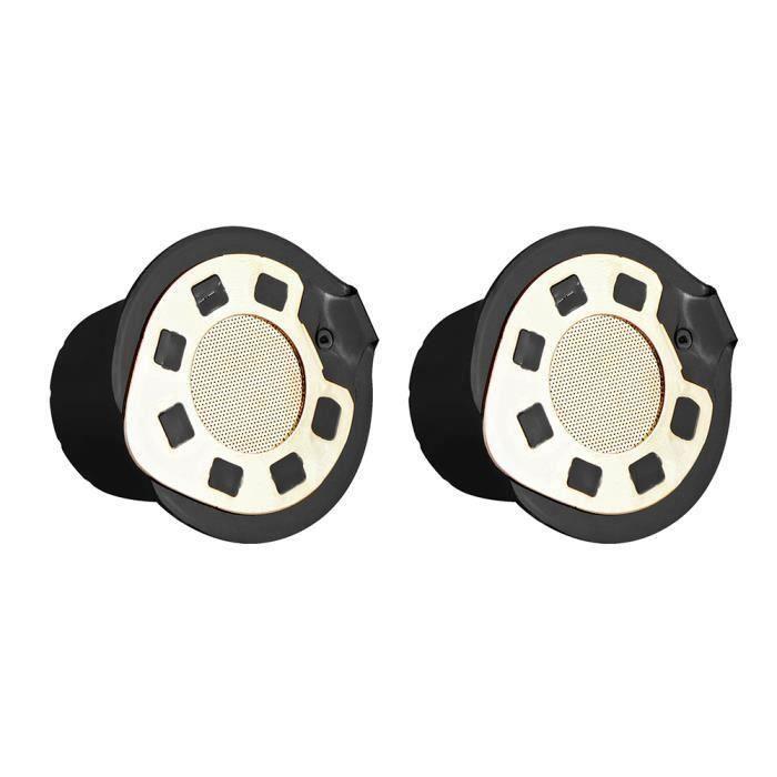 2pcs 24K or Filtre à Café Nespresso réutilisable capsule de café filtre compatible avec Nespresso (avec une cuillère à café)