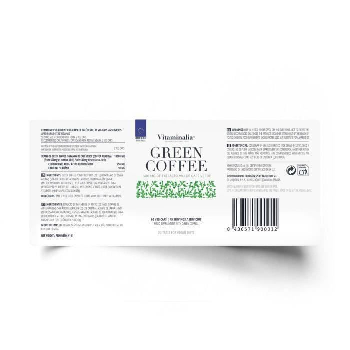 Café Verde - Green Coffee - 90 Veg Caps