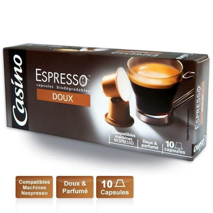 CASINO Espresso Doux
