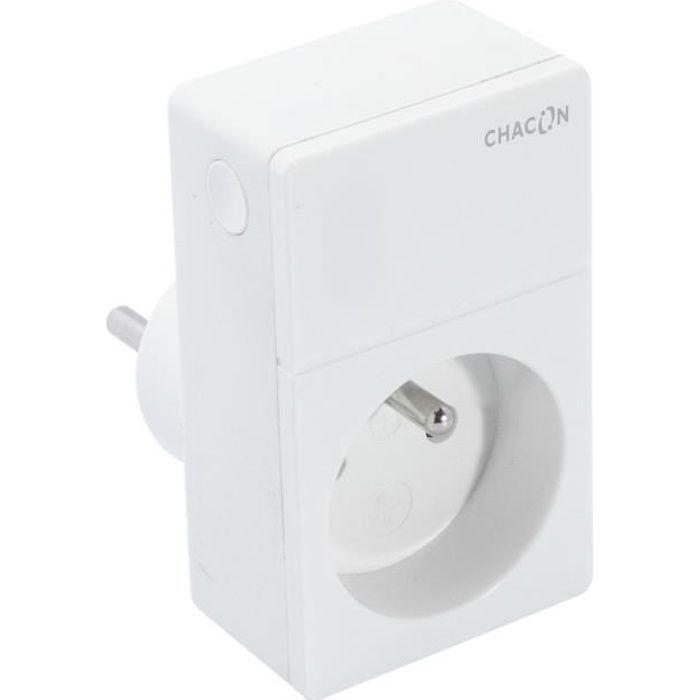 CHACON Prise sans fil Wi-Fi connectée pilotable à distance