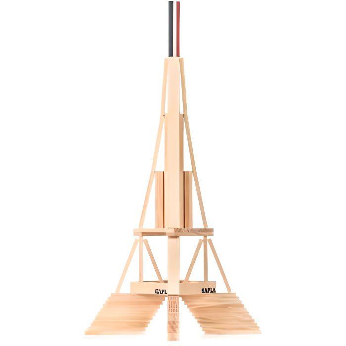 KAPLA La Tour Eiffel - 105 Planchettes en bois