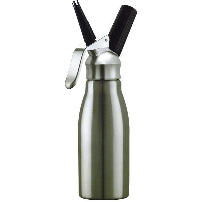 Siphon à crème chantilly - 1 L - inox