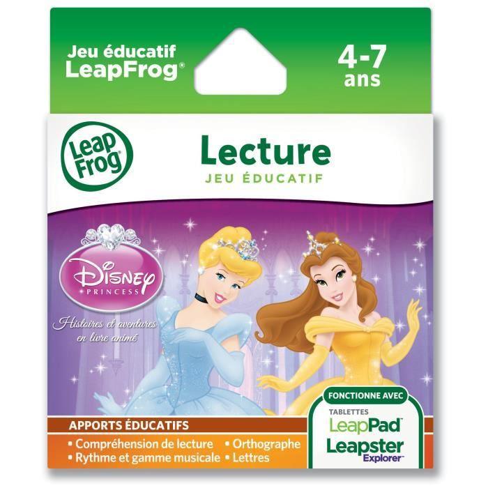 PRINCESSES DISNEY Explorer Jeu LeapPad LeapFrog