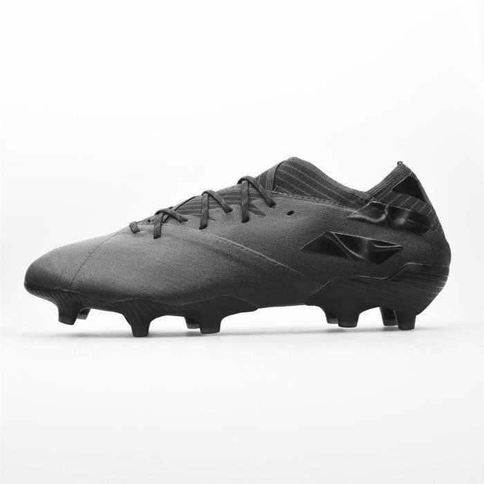 Adidas Nemeziz 19.1 Fg Chaussures De Football Sol Dur Noir