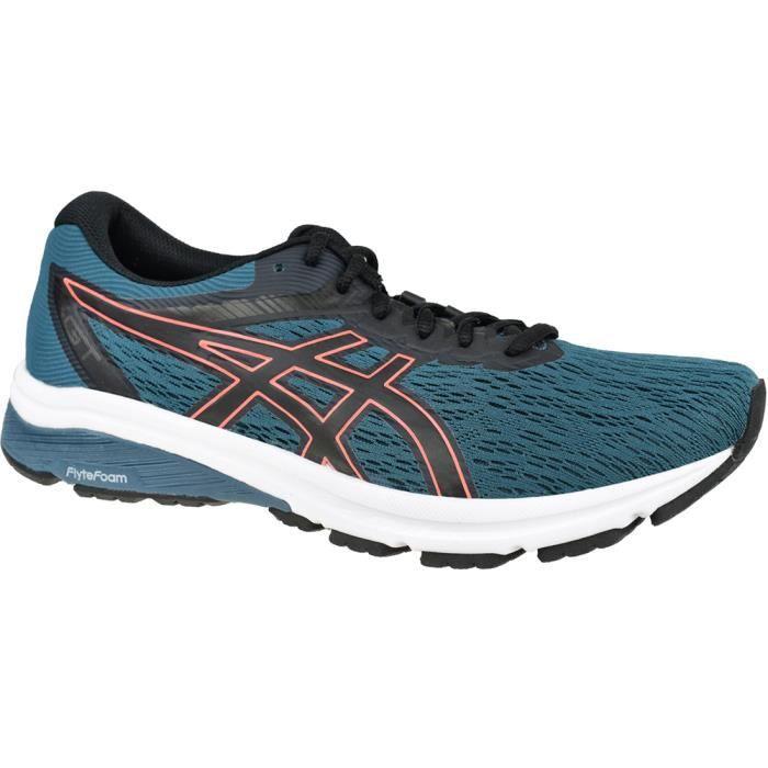 Asics GT-800 1011A838-400, Homme, Bleu, chaussures de running