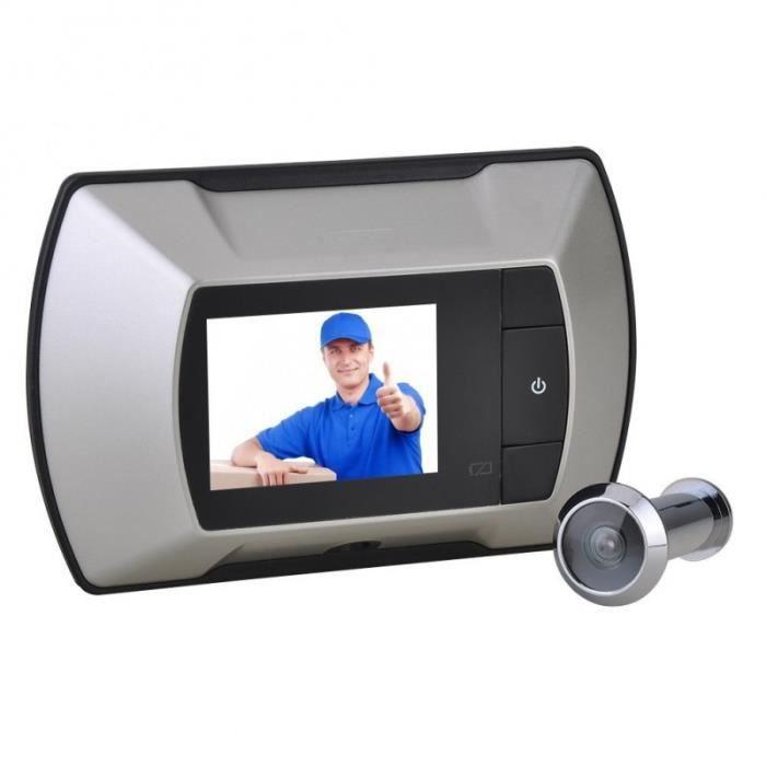Judas digital avec écran vidéo de 6cm