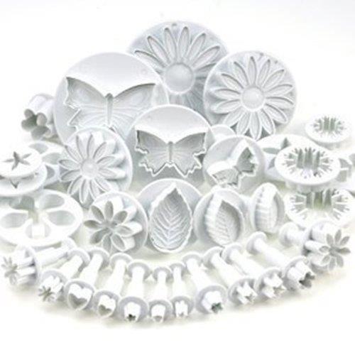 Ensemble de 53 ustensiles moule pour emporte-pièces décoration de gâteau avec diverses formes