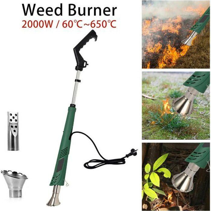 XuBa sans Fil de Jardinage Extracteur de Mauvaises Herbes Portable Sarcloir Outil de Jardinage Facile Poign/ée Main Weeders