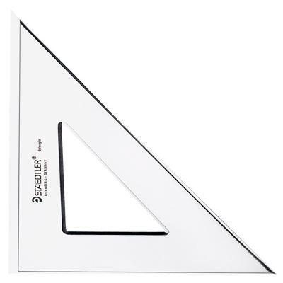 Equerre plexiglas 45d 19cm gx1450