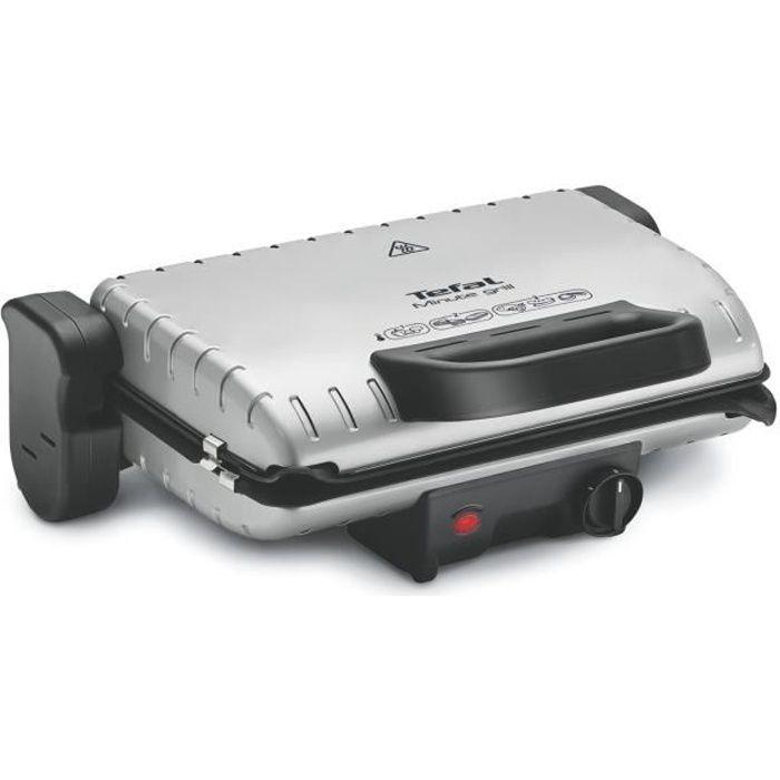 TEFAL GC205012 Grille-viande électrique Minute Grill - Inox