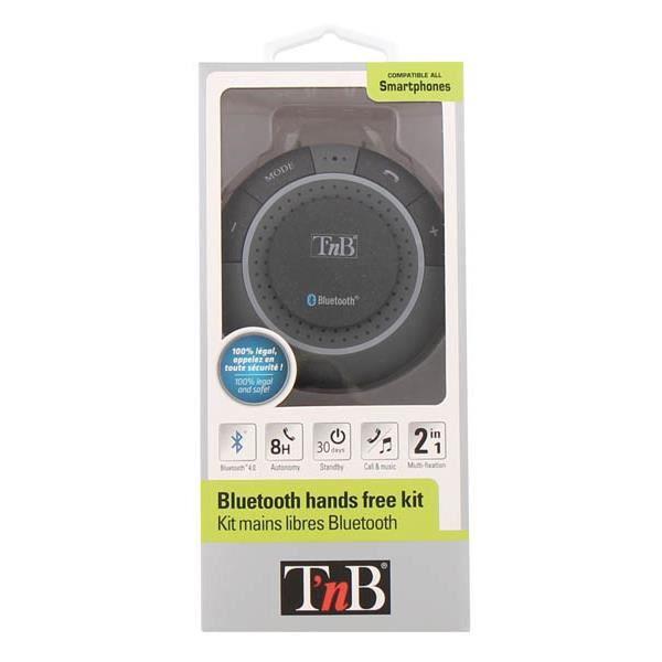 Grâce à ce kit mains libres Bluetooth, gérez vos appels dans votre véhicule en toute sécurité et en toute légalité. Il se fixe f...