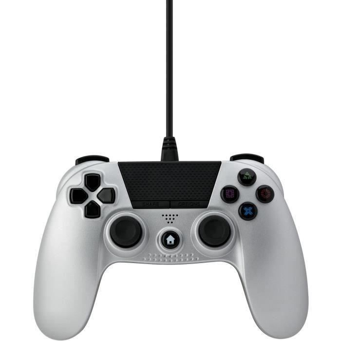 PROXIMA PLUS Manette Under Control - 3M - Compatible PS4 - Argent