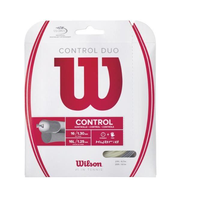 Wilson WRZ949100 Cordage de tennis 16 gauge