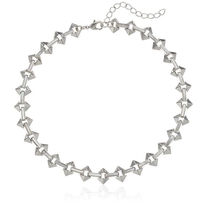 Milky Moon Choker Necklace YU5GE