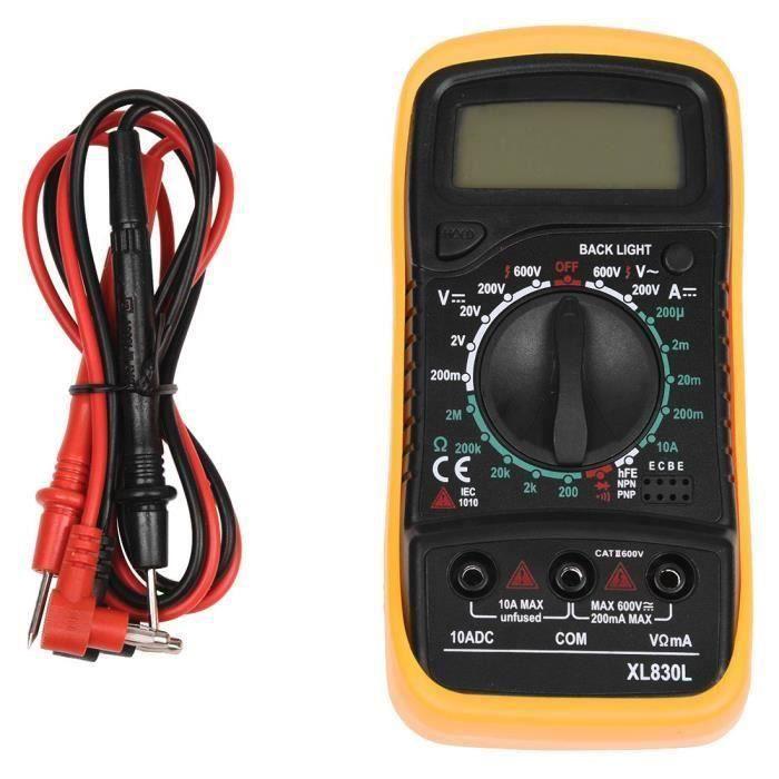 Prises testeur pour /échelle neutre et terre type EU 90 V-220 V 50-60 Hz