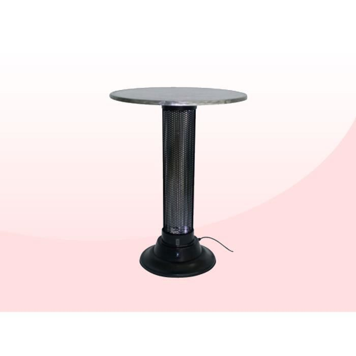 Table de chauffage party 1 achat vente chauffage for Chauffage exterieur table