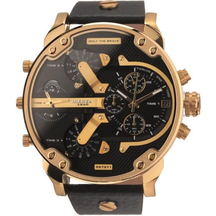 diesel montre dz7371 chronographe homme achat vente montre diesel montre dz7371 homme. Black Bedroom Furniture Sets. Home Design Ideas