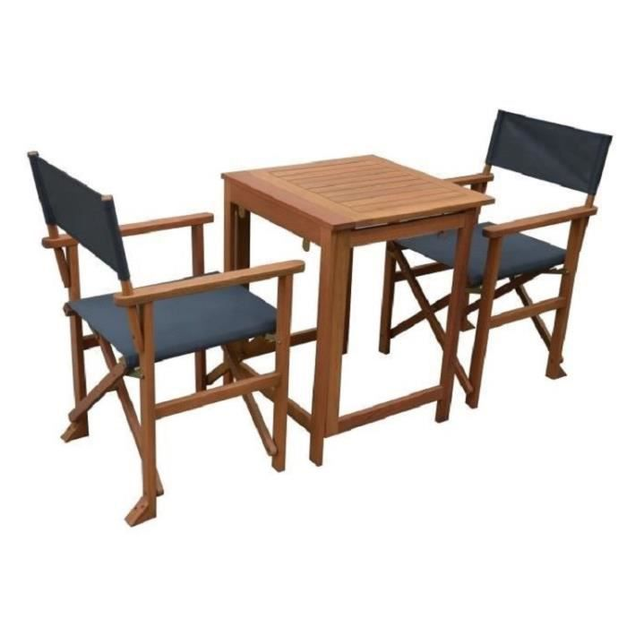 table jardin 2 personnes resine tressee achat vente. Black Bedroom Furniture Sets. Home Design Ideas