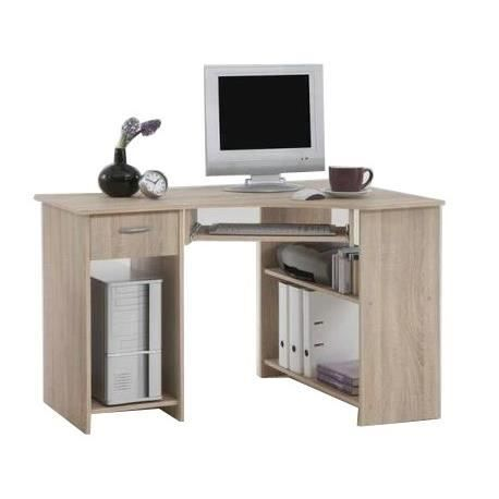 felix bureau d 39 angle 77 cm ch ne achat vente bureau. Black Bedroom Furniture Sets. Home Design Ideas