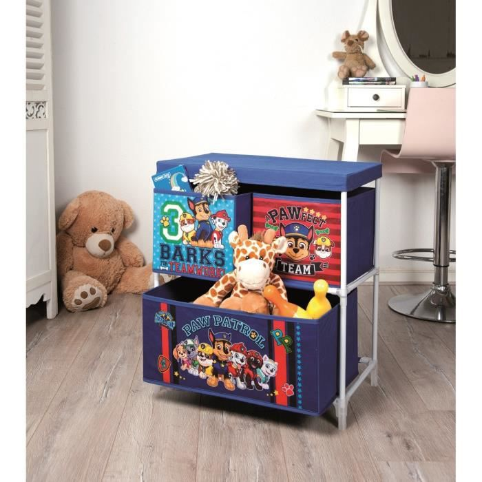 pat 39 patrouille meuble de rangement enfant achat vente. Black Bedroom Furniture Sets. Home Design Ideas
