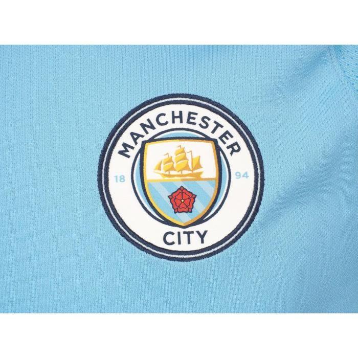 Manchester City F.C Coussin avec logo bleu clair 40/x 40/cm