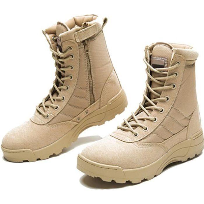Militaire Cheville De Durable Securite Top Armée Portable Bottes Désert Chaussures Tactique Bottes Combat Hommes Bottes Combat Haute ordBxeC