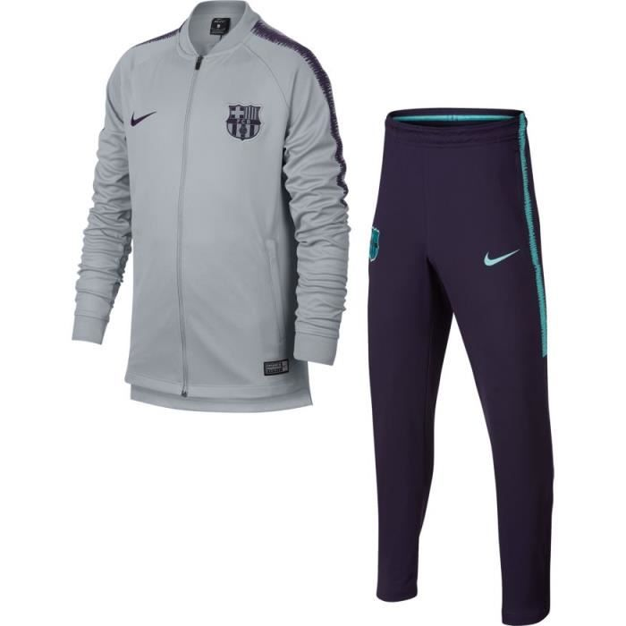 top quality top brands fantastic savings SURVETEMENT NEWS JUNIOR FC BARCELONE GRIS 2018/19 maillot ...