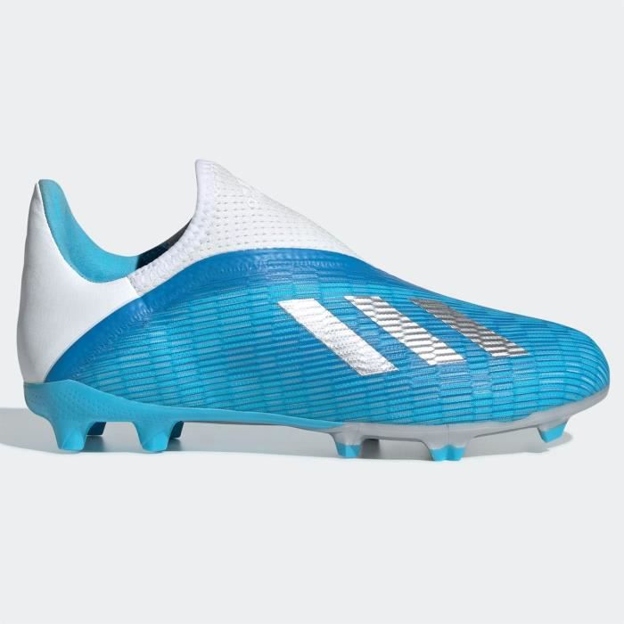 Adidas X 19.3 Laceless Enfant Fg Chaussures De Football Sol Dur ...