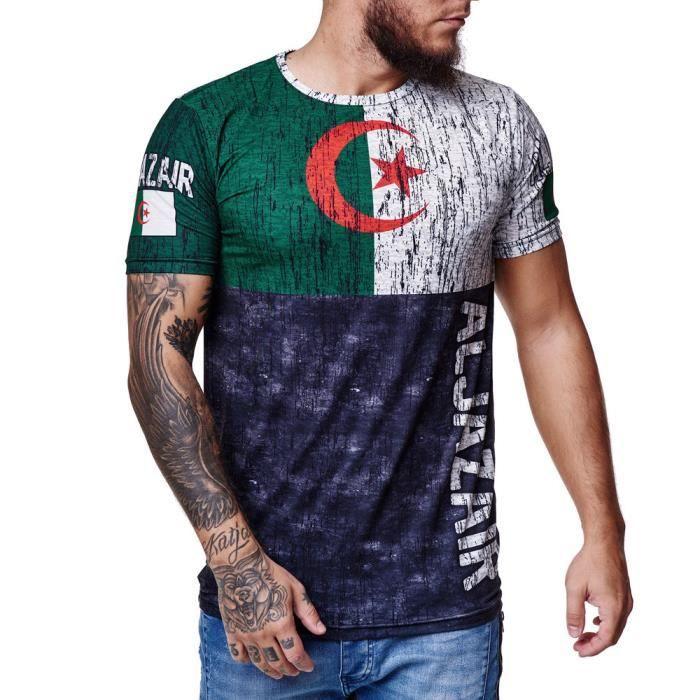 Homme Polyester Survêtement Ras du cou t shirt et short Set Top Ajustée Top vente XA